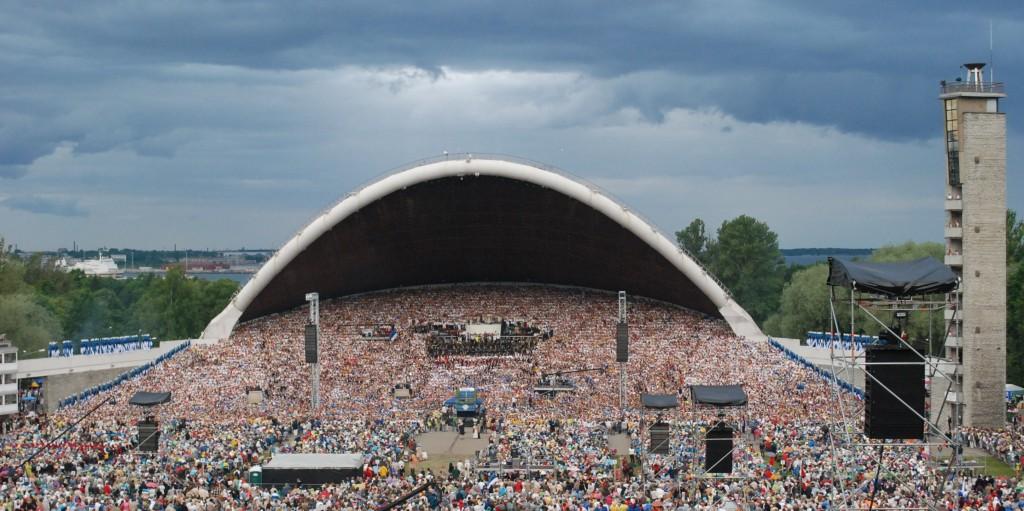 Певческое поле, Таллин, Эстония