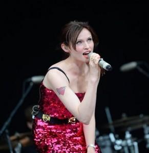 Софи Эллис-Бекстор в Таллине, Певческое поле, лето 2013