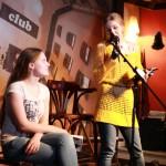 """Поэтический мит в """"Книги и Кофе"""", поэты Сопрано и В.Владимирская"""